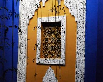 Window - Jardin Majorelle, Morocco