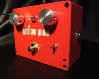 Wolfram Audio Reverb Pedal