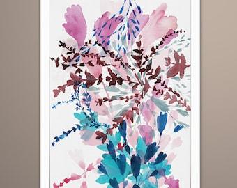 Flower Painting, Original Painting, Flowers Painting, Floral Painting, Original Painting, Abstract Painting, Flower Art, Wall Art, Decor