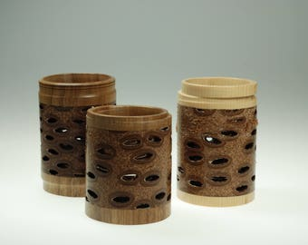 magic Banksia pine candle holder mothersday