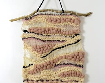28 large woven wall hanging - OOAK - handmade by me.