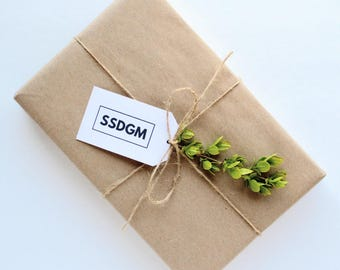 SSDGM Gift Tags - Parcel Tags - Gift Wrap - Digital Download