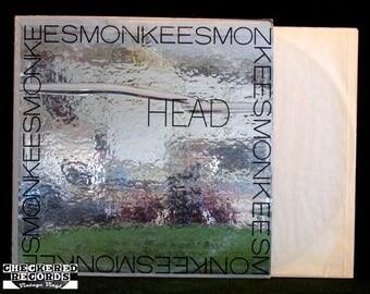 RARE The Monkees Head Foil Wrap NM Vintage Vinyl LP Record Album