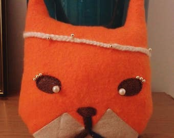 Plush doudou Fox