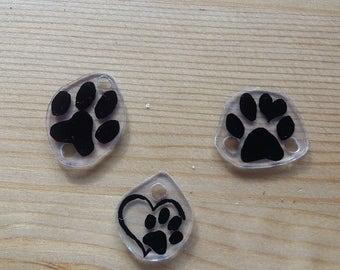 Custom Paw Print Charm