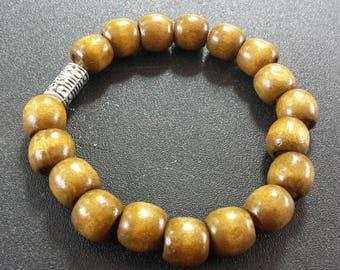 Mens wooden bracelet