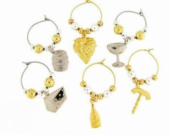 Wine Charms Drink Charms, Wine Glass Charms