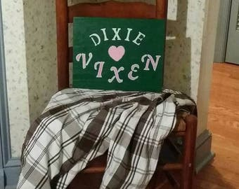 Dixie Vixen Sign