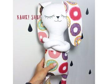 rabbit Nona .Stuffed Animal.Plush Toy