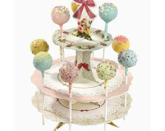 Frills and Frosting Pop Stand with Pop kit