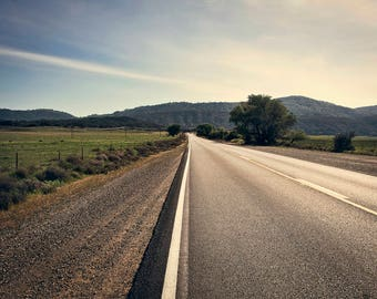 Long Road Home - Landscape Photography - CA