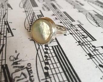 Saxophone key ring - vintage