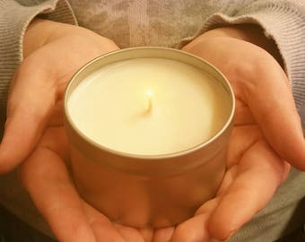 Hand made soy based candle 12 different scents