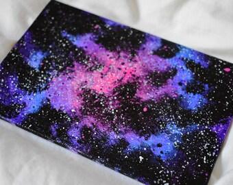 "Miniature Galaxy (ORIGINAL 4x6"")"
