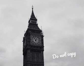 Big Ben photo - digital download