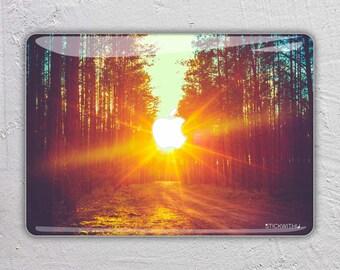 landscape macbook skin forest macbook decal sun macbook sticker sunset macbook cover photography macbook pro skin macbook air 11 13 FSM079