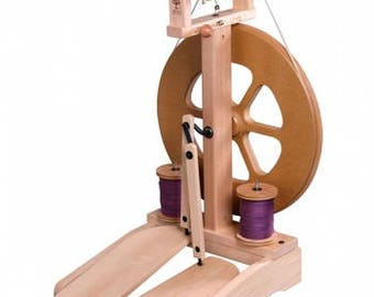 Ashford, Spinning, Wheels, Kiwi 2, unfinished, double treadle,