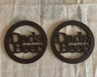Fathers Day Beer Coaster