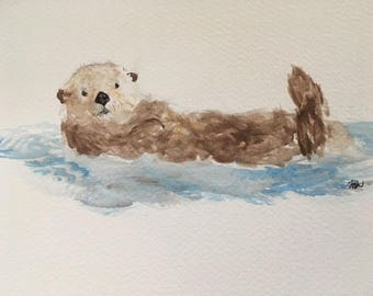 Commisioned Animal Watercolour