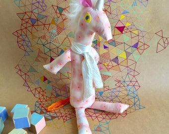 """Lucky Little Things Soft-toy Baby Unicorn """"Hattie"""""""