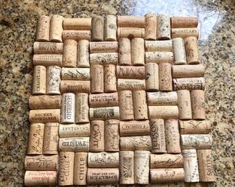 Recycled Wine Cork Trivet