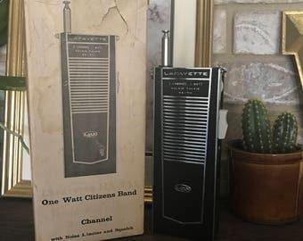 Vintage walkie talkie radio