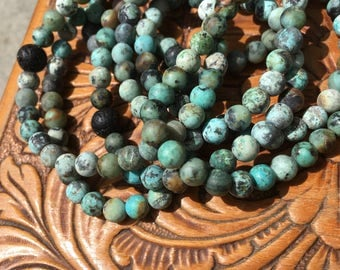 Turquoise with Lava Rock
