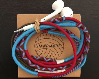 Organic Cotton Wrapped Earphones