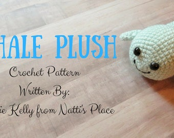 Whale Crochet Pattern Digital Download PDF