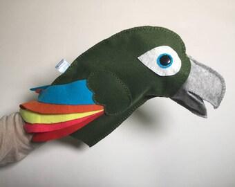 Parrot Puppet