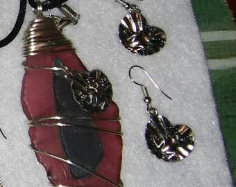 necklace sea glass jewelry