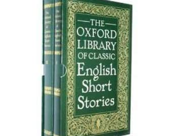 The Oxford Library of Classic English Short Stories (Second hand)