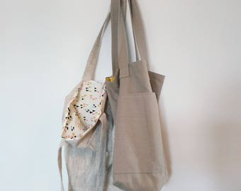 Lined Tote Bag Sewing Kit