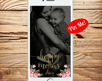 INSTANT DOWNLOAD, Snapchat Mothers Day Filter, Snapchat Filter, Snapchat Geofilter, Mom Filter, Geofilter, Mother Snapchat Geofilter