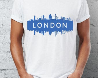 London - capital city  - t-shirt