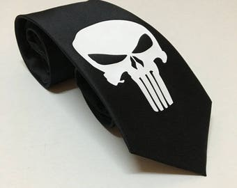 Punisher Necktie
