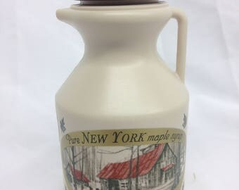 Pure NY Maple Syrup in a Half-Pint Jug