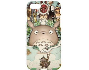 Anime iPhone 7 case Totoro iPhone 7 plus case iPhone 6/6s case iPhone 6/6s plus case iPhone 5/5s/SE case iPhone 4/4s case