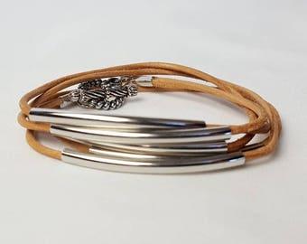 Women's Cord Wrap Around Bracelet