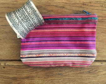 Ethnic make-up pouch
