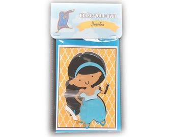 Jasmine paper doll