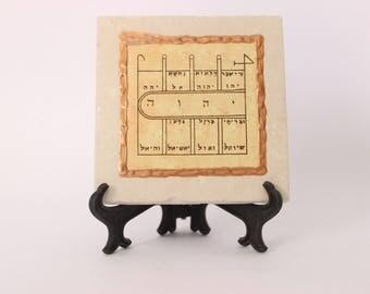 home-energy-purifying symbol with god's name-jewish-kabbalah-israel-jerusalem Made in Israel