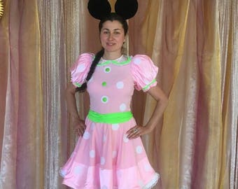 Minnie mouse costume. Halloween costume.