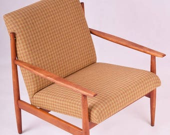 Set of 2 Danish design armchairs. 60's