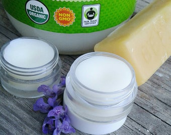 Organic Coconut Lip Balm/ Cuticle Oil