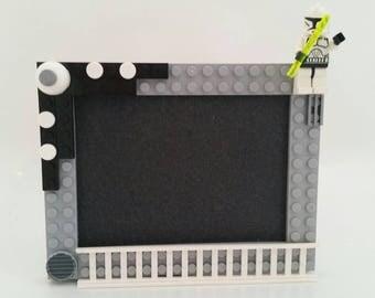 Star Wars Storm Trooper Lego Picture Frame