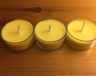 Soy Tea lights/3pk/Juicy Couture