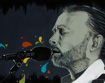 Thom Yorke Canvas