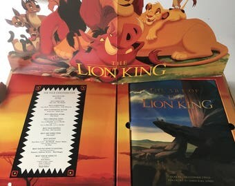 "Disney' s The Lion King ""The Art Of The Lion King"" Book 4 Academy Motion Picture Arts & Sciences Members 4 OSCAR Academy Award Votes"
