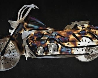 Heat Treated Steel Motorcyle